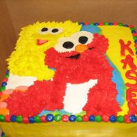Sesame Street Cake 2nd view