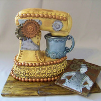 Steampunk Mixer And Cc Magazine
