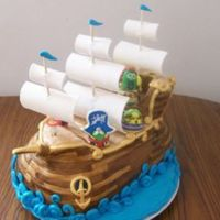 Veggie Tales Pirate Ship