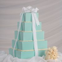 Tiffany Dummy cakes for a wedding show last year