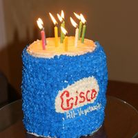 Crisco Cake This was for my mother in law. An inside joke about Crisco. :)