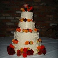 Ivory Swirl All buttercream and I did NOT do the flowers. Last time that happens