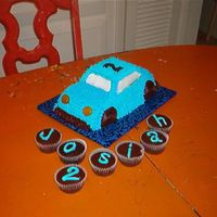 First 3D Cake This is the first one I have ever done. For my Sons 2nd b-day.