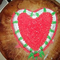V-Day Cake It was just a quicky, not totally happy with it but it was fun to do.