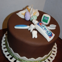 Easter Cake For A Dentist I needed to complete a cake for a dentist, and it was right before Easter so I figured I would combine the two themes. All decorations are...