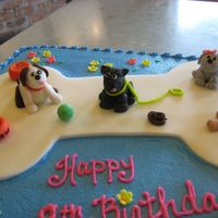 Puppies Fondant toppers