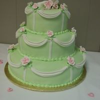 Green & Pink Wedding