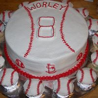 St. Louis Cardinals/ Birthday Cake