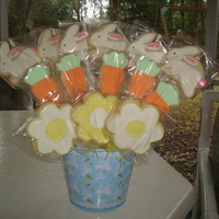 Easter Bouquet For a fundraiser at my children's school.