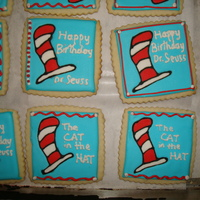 Cat In The Hat For my son's preschool class to celebrate Dr Seuss Bday.