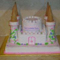 Castel Cake Thanks to the ideas of many people here on cake central this is my version.the little girl loved it soooo much. they didn't want to...