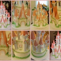 Princess Castle This is my first princess cake & it is the Wilton kit. I did it differently and used half inch dowels for support and DH drilled me a...