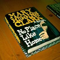 "3-D Book THIS WAS FOR A LOCAL BOOK CLUB THAT WAS READING MARY HIGGINS CLARK'S ""NO PLACE LIKE HOME"". ( SINCE THE MAIN CHARACTER IN THE..."