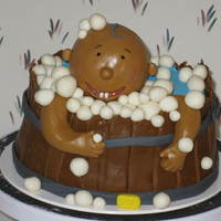 Baby Bath for my nieces baby shower thank you cake central for the idea...