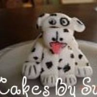 Over Weight Dalmation This is a dalmation I made to put beside a fire truck cake I am working on for my grandson's 6th B-day. He is just a little chubby for...
