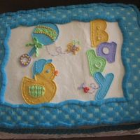Baby Duck This was a buttercream transfer.