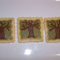 Fall Tree Cookies   First I want to thank shiney for the wonderful design I had so much fun doing these cookies