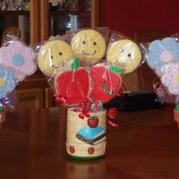 1St Cookie Bouquets