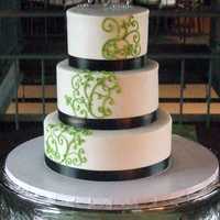 Smith Wedding Another green and brown themed wedding (like the one I just loaded) at the same venue. Piping design was replicated from bride's...