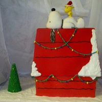 Snoopy! I have been wanting to do this cake for a long time, but really got motivated when I saw Cakeb0t's lovely Snoopy cake. So happy with...