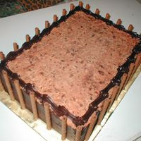 German Chocolate Business Party Cake This is the other cake I did in conjunction with the Italian Cream cake.