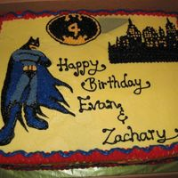 Batman Cake Due During The Same Week As The Backyardigans. This is my second cake that was due in the same week as the Backyardigans cake after my vacation from decorating.