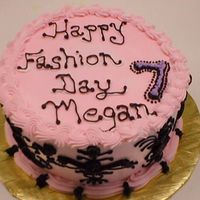 Fashionista Birthday Cake - Can't You Tell My Tendonitis Is Kicking In ?? This was the last cake I did before my tendonitis was absolutely killing me. I apologized to the client but they were happy with it. I...