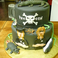 Billy The Exterminator Birthday Cake   Cute 5 year old loves the show and wanted to share his love at his birthday party!