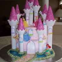 Princess Castle Cake I made this cake with the new Wiltons Romantic Castle Kit. It was extremely easy to make, and you can have a lot of fun with it. Hard to...