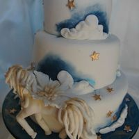 Pegasus Birthday Cake