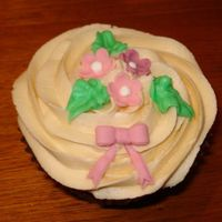 I Love Cupcakes Chocolate cupcakes with french buttercream.