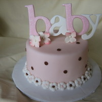 Baby Interlocking Letters For a top tier or the sides on the cake. Hope you like!!! The letters were made a bit thicker than usual to insert a covered wire on the &...