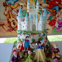 Snow White Fairytale Cake