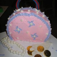 Purse Cake This was for my neices 4th birthday. She loved it.