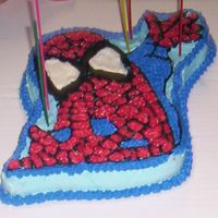 Spiderman Cake I made this cake for my sons 5th birhtday. He really loved it.