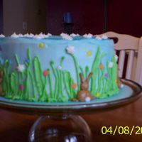 First Easter Cake  This is the second cake I've made. My inspiration was from Thanh Thanh on this site - although her cake looks much better! It wasn&#...