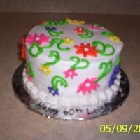 First Try At This - 60Th Birthday  One of my favorites on this site is Thahn Thahn - I adore her cakes! So this idea came from one of her cakes. I'm not thrilled with...