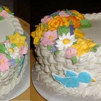 Calss Two Final I had a lot of fun making the flowers, and placing them. I definitely want to make more cakes like this again.