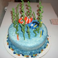 Nemo And Dori Under Sea Cake