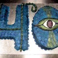 Dragon 40 Something different client wanted the #40 but with a dragon theme and it was a hit.