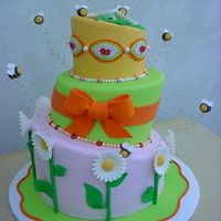 One More A Lot Of Bees Cake