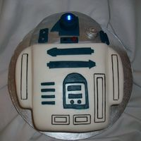 Cp3O This cake was for a friend and it was very last minute. It's a quick easy design that worked out well since the boy wanted a Star Wars...