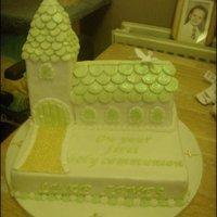 Communion Church Cake my friends wee boys first holy communion