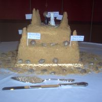 Sand Castle Wedding C Ake