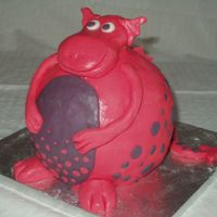 Dragon This is based on Debbie Brown's Dotty Dragon. It is for a celebration at work which has a princess and knight theme. I work for a pre-...