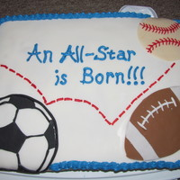 Sports Theme Baby Shower