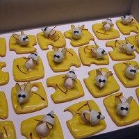 "Many Blind Mice Halloween cookies for second graders. Sometimes one only has to look at nursery rhymes for something scary. ""She cut off their tails..."