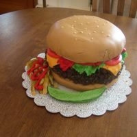 Cheeseburger In Paradise I made this for my friend's 30th birthday, which we celebrated at a Jimmy Buffett tailgate party.