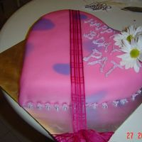 Cake For A Friend Vanilla buttercake with buttercream and MMF frostings. Thanks for looking...