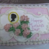 Mother's Day this is a cake for my mom